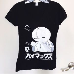 Disney Baymax Graphic T-shirt